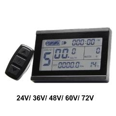 24V 36V 48V 60V 72V Display intelligent KT LCD3 Electric Bicycle bike Parts meter panel with waterproof connector Ebike display
