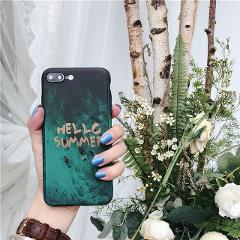 360 Degree Full Body Protect Plastic Luxury Flower Marble Stone Painted Hard Case For iPhone X XS MAX XR 6 6S 7 8 Plus 5 5S SE