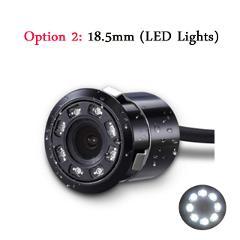 Koorinwoo Wireless Universal HD CCD Car Rear View Camera IP68 Night Vision 8 LED Infrared Lights Backup Parking Assist Reverse