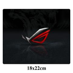 Republic Of Gamers Gaming Mousepad DIY Custom 18x22cm ASUS Locking Edge Durable Mouse pad Soft Gamer Office Computer Mat