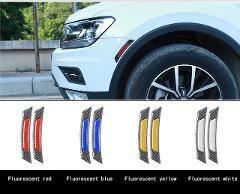 Wheel eyebrow car stickers car reflective stickers for BMW Volkswagen Toyota Mazda Audi body decoration luminous stickers