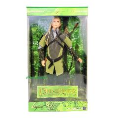 2004 Ken Doll As Legolas in Lord of the Rings Fellowship of the Ring Worn Box