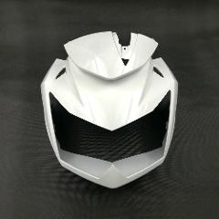 For Kawasaki Z750 Z-750 2007 2008 2009 2012 2011 Motorcycle Front Head Neck Upper Headlight Cover Fairing Upper Front Head Cowl