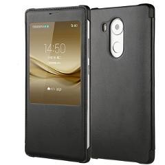 LEPHEE for Huawei Mate 8 9 Case Huawei Ascend Mate8 Cover GOLD Hard Back Cover Window Flip Leather Cases for Huawei Mate8 10