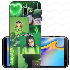 Song Lyrics Billie Eilish Aesthetic Coque Shell Phone Case For samsung Galaxy j6 plus A6 A8 A9 A10 A30 A50 Cellphones