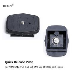BEXIN New DSLR Camera Lightweight Quick Release Plate adapter for Velbon: EX-638 CX-888 CX-460 Yunteng Somita Sony D680 D580