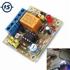 LM393 DIY Light Operated Switch Kit Light Control Switch Photosensitive DIY Electronic Trigger Output Mode Module Funny DIY Kit
