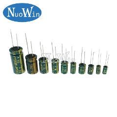 5-20pcs 10V 16V 25V 35V 50V Low ESR high frequency aluminum capacitor 47UF 100UF 220UF 330UF 470UF 680UF 1000UF 1500UF 2200UF