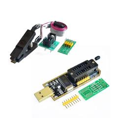 CH341A 24 25 Series EEPROM Flash BIOS USB Programmer Module + SOIC8 SOP8 Test Clip For EEPROM 93CXX / 25CXX / 24CXX DIY KIT