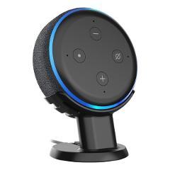 Pedestal Mount Holder Stand for Amazon Alexa Echo Dot 3rd Gen, A Cleaner Tidier Appearance Solution Desk Mount Holder Stand