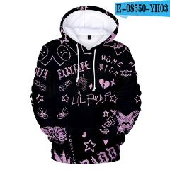 lil peep 3D hoodies men/women/kids Fall/Winter Warm New Sale Fashion Long sleeve Sweatshirts Lil peep 3D hoody cool casual tops