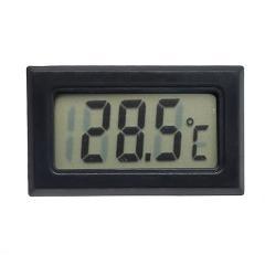 junejour Digital Thermometer Mini LCD Display Meter Fridges Freezers Coolers Aquarium Chillers Mini 1M Probe Instrument 1pcs