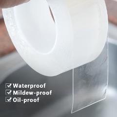 5cm Bathroom Kitchen Mildewproof Waterproof Acrylic Transparent Tape Sink Gap Toilet Corner Line Seal Strip Sticker