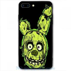 FNAF - Springtrap Phone Case For iPhone 12 Pro 11 X XR XS Max 8 7 6 6s Plus 5s Soft TPU Glass Back Cover
