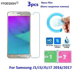 Nano Protective Film For Samsung Galaxy J3 J5 J7 2016 J7 J3 J5 2017 (Not Glass) LCD Screen Protector Protection Film Foil Guard