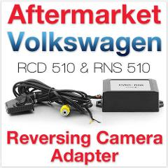 BODENLA V9.3 Version For VW RNS510 RCD510 RNS315 AV decoder video Converter Box rear view camera CVBS to RGB