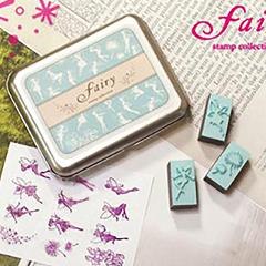 12Pcs/Set Lovely Diary Pattern Seal Stamps Set Cute Animals Jewelry Fairy Ballerina Wood Rubber Signets #20