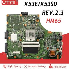 K53E motherboard for ASUS P53E K53SD motherboard REV:2.3 PGA989 HM65 placa mae ddr3 100% tested intact