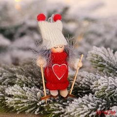 2020 New Year Latest Christmas Angel Dolls Cute Xmas Tree Ornament Noel Deco Christmas Decoration for Home Navidad 2019 Kid Gift
