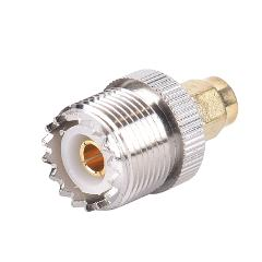1PC NEW SMA Male Plug to UHF PL259 SO239 Female RF Connector Adapter Cable