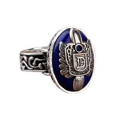 Couples Rings Bijouterie Vampire Diaries Salvatore Damon Stefan finger Family Crest RING for Man or Woman Gift Ring wholesale#25