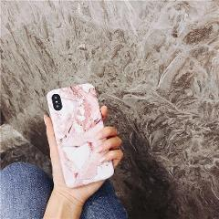 Shockproof fashion TPU Case Cover For Apple iPhone X 8 7 Plus 6 Marble pattern case