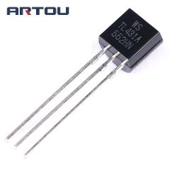 100PCS TL431A TL431 TO-92 Programmable Voltage Reference