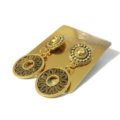 STENYA Punk drop earrings pendants tibet beads charms filigree brincos earring vintage Jewelry Bijoux