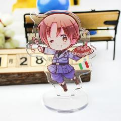 Axis Power Hetalia APH Arthur Kirkland Alfred Cute Acrylic Stand Figure Desktop Decoration Collection Model Toy Cosplay Doll