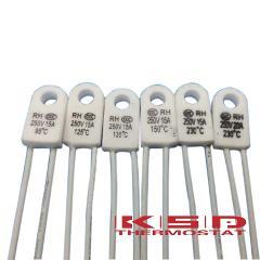 5pcs RH/Tf RH 135C RH 135 Celsius 13 5Degree RH135 15A 250V Temperature fuse Thermal links Over temperature protector