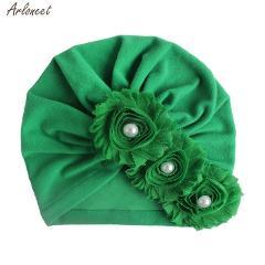 Baby Fashion Sun Flower Hat Newborn Cap Fetal Cap Basin Warm Girl Boys Cute Hat Kids Winter Hat 2020 Hot Sale New