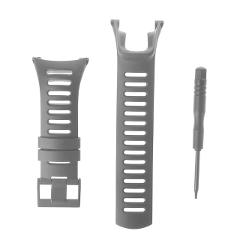 Soft Silicone Replacement Men's Watch Band Strap For SUUNTO Ambit 1/2/3