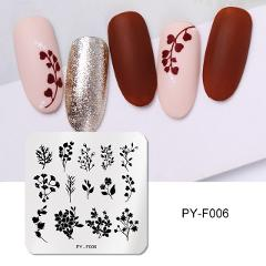 PICT YOU Nail Stamping Plates Snow Winter Nail Art Stamp Template Design Nail Image Plate Stainless Steel Stencil Tools
