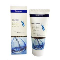 Farmstay Koreanischer Reiner Collagen Foam Cleanser [180ml / 6.09Oz] 폼 클렌징