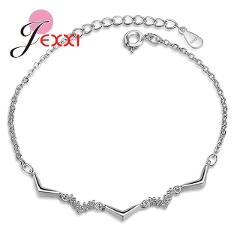 New Arrival Bracelets Simple Style 925 Sterling Silver  Jewelry For Girls Best Party Meeting Accessories Free Shipping