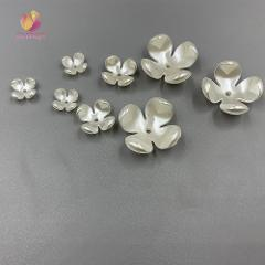 New Flower Abs Imitation Pearls Beads  ABS imitation pearls mounted movable type for Jewelry accessories