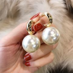 Vintage Pearl Drop Earrings Jewelry earrings Gift for Party Fashion Woman earring 2019 Pearl Earring for Women